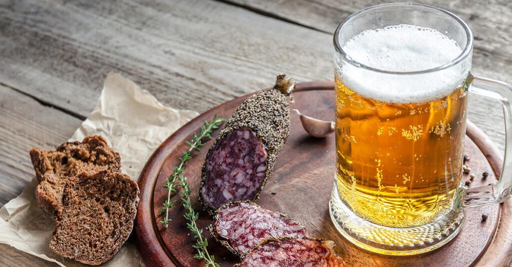 maridaje perfecto de cerveza y comida