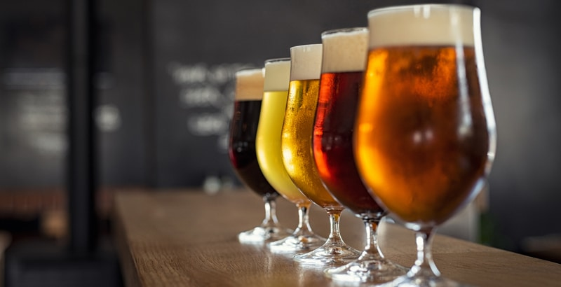 desperdicio de un barril de cerveza