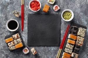 diferencias entre maki sashimi nigiri y maki