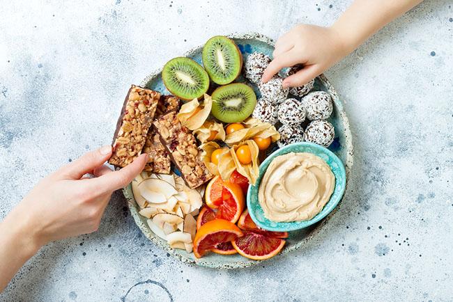 Que es el snacking healthy