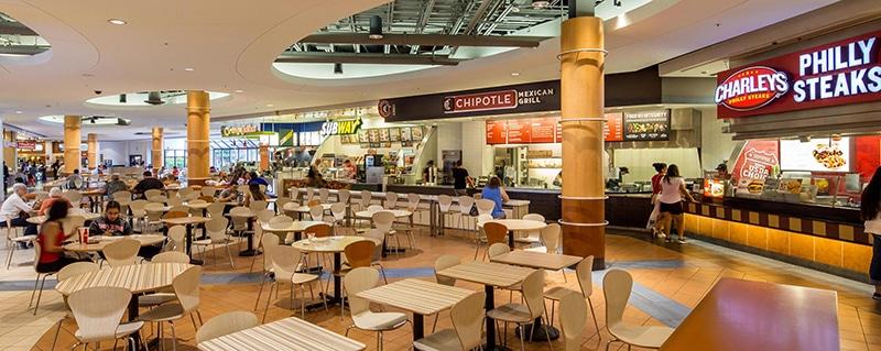comedor central del food court