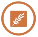 gluten icono símbolo alérgenos