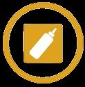 Mostaza alérgenos alimentarios icono