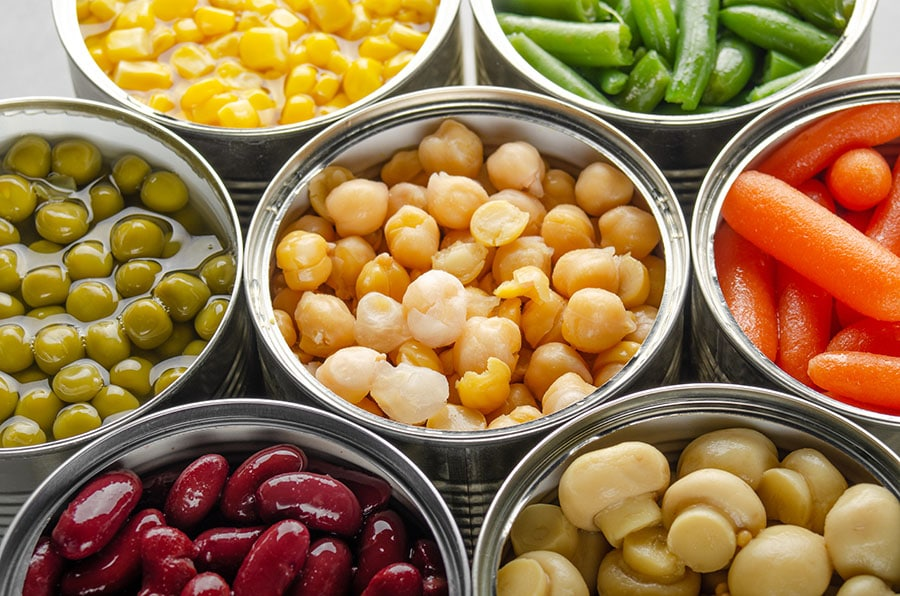 alimentos no perecederos para donar al banco de alimentos