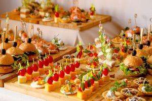 que es el catering en un evento