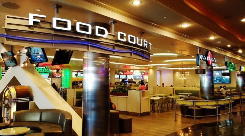 que significa food court
