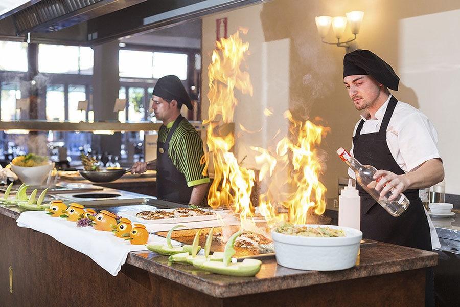 Tipos de Show Cooking