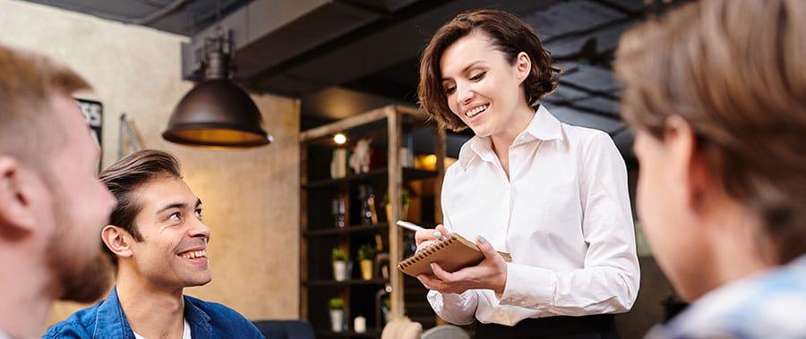 Técnicas de ventas en un restaurante
