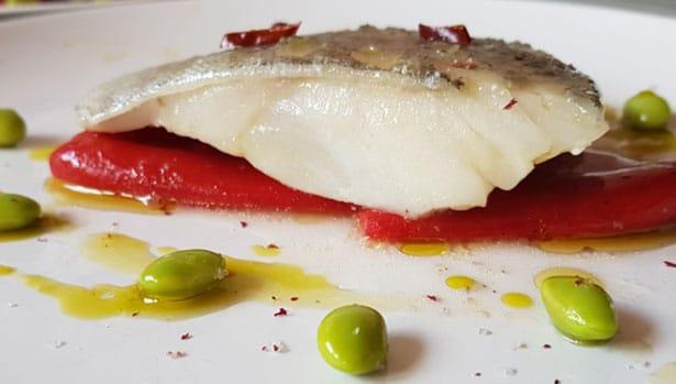 Receta de bacalao a baja temperatura con aroma de romero