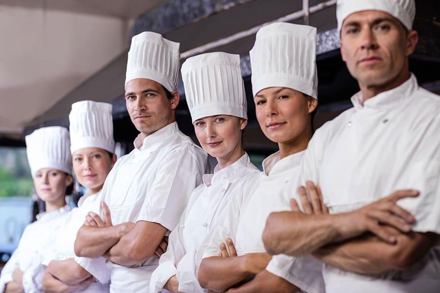 Cuales son los puestos de trabajo en un restaurante