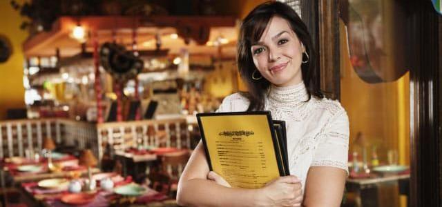 Funciones de un anfritión de restaurante