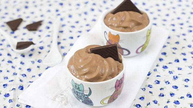 Mousse de chocolate Ferran Adria