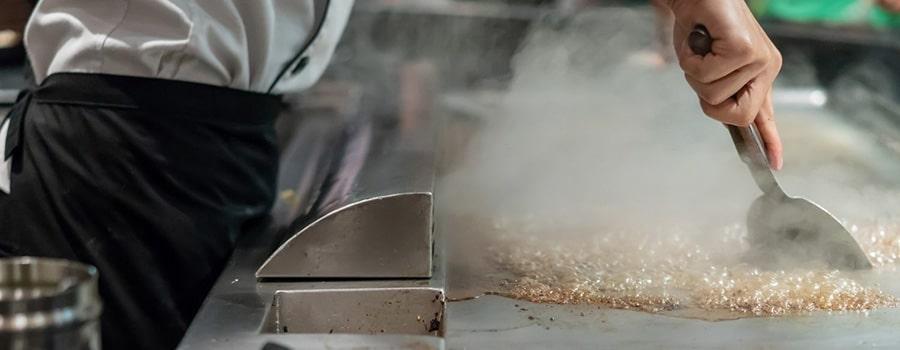 Como limpiar una plancha de cocina nueva