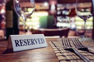Cómo organizar las reservas en un restaurante