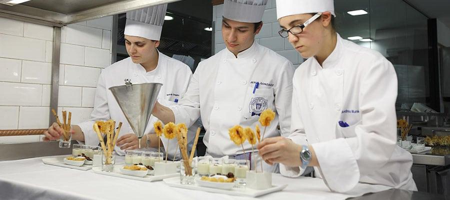 Dónde estudiar la carrera de gastronomía en España