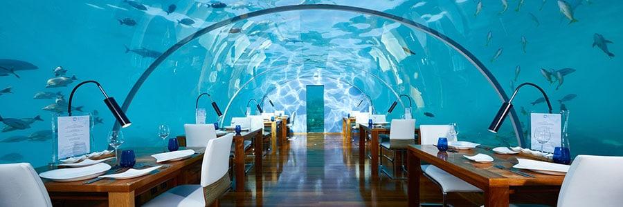 regalar una experiencia culinaria bajo el mar